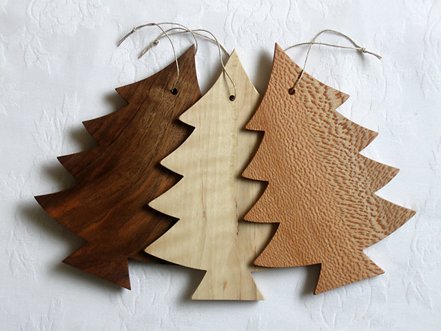 wooden christmas tree decorations - Wooden Christmas Tree Decorations